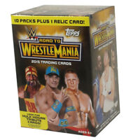 Topps Trading Cards - WWE 2015 Road to Wrestlemania blaster factory sealed