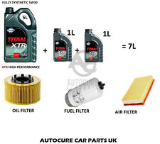 FORD TRANSIT MK6 2.0 & 2.4 SERVICE KIT AIR OIL FUEL FILTERS 7L ENGINE OIL 00/06