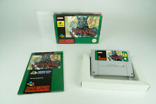 Super Nintendo * Hagane: the Final Conflict * SNES OVP con instrucciones funda protectora