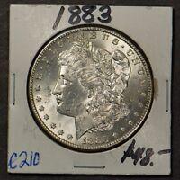 1883 MORGAN $1 SILVER DOLLAR ** Lot#C210