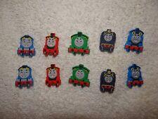 Thomas Train Croc Clog Jibbitz Charm Shoe Plug Button Wristband Bracelet Access.