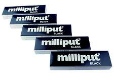 5 Packs Black Milliput Epoxy Putty Modelling Sculpt Ceramics Slate Repair X1019d