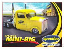 """2014 Speedco Mini-Rig """"1st issued"""" Tractor Pull thinstock postcard"""