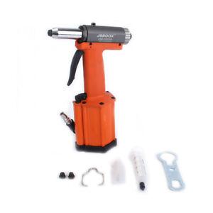 """1/4"""" Air Rivet Gun Rivet Nut Gun Drill Self-Priming Pneumatic Riveting Tool"""