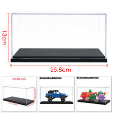 Clear Acrylic Plastic Display Box Case Protection Toys Dustproof Big Size 26cm