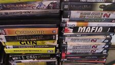 Lot of 960 PC Computer Games Discs Cases Star Wars Sims Strategy War + MORE