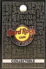 Hard Rock Cafe Yankee Stadium Pin Classic Core Logo NYS New York New LE # 97938
