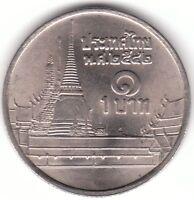 Thailand 1 Baht 1999 Copper-nickel Coin - King Rama IX