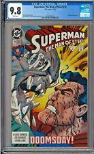 Superman The Man of Steel #19 CGC 9.8 White Doomsday app