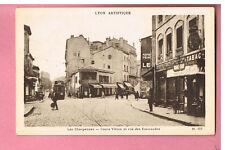 CPA - LYON - VILLEURBANNE - 69  LES CHARPENNES - COURS VITTON RUE DES EMERAUDES