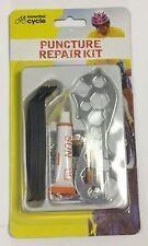 10 x Kit de reparación de pinchazos Tool Set-Parche llave Pegamento Para Bicicleta/bici/Ciclo de empuje