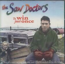 SAW DOCTORS To Win Just Once CD UK Shamtown 1996 4 Track B/W Sound Sham, Winter'