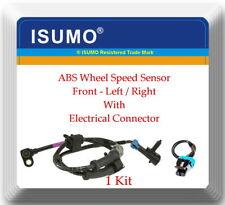1x ABS Wheel Speed Sensor Front L or R W/Connectors Fits: Astro Safari 03-05 RWD