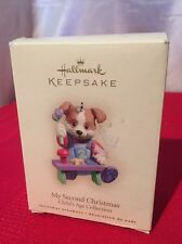 Hallmark Ornament My Second Christmas Childs Age 2006 Keepsake Collection