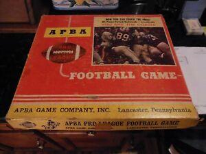1972 APBA Vintage Professional Football Game w 26 Teams + 4 Additional All Time