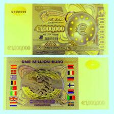 """★★★ EUROPE / FRANCE : BILLET POLYMER  """" OR """" DE 1 000 000 EURO ★★★"""