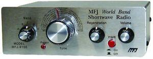 MFJ-8100K World Band Shortwave Regenerative Receiver Kit (Requires Assembly)