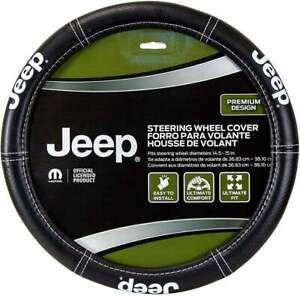 Brand New Official Licensed JEEP Logo Car Truck Van Steering Wheel Cover