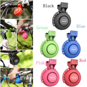 1X Waterproof Electric Bicycle Horn 120db Cycling Handlebar Ring Bell Alarm New
