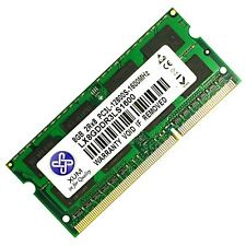 UK NEW 8GB 1X8GB DDR3L 1600MHz PC3L 12800S Laptop SODIMM RAM Low Voltage 204 pin