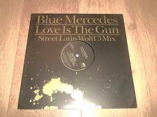 """Mercedes bleue """"love is the gun"""" 12"""" Vinyle Excellent 1988 house"""