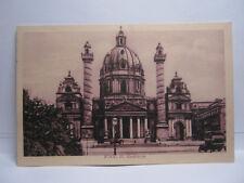 WIEN - Karlskirche - AK gelaufen mit Sonderstempel von 1942