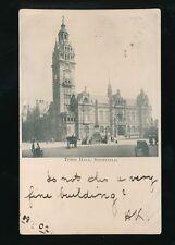 Yorkshire Yorks SHEFFIELD Town hall u/b 1902 PPC