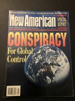 CONSPIRACY For Global Control: New American magazine Special Report September 96