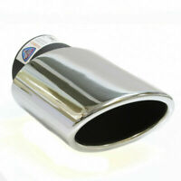 Chrome Exhaust Tip Pipe For Honda Civic Accord Jazz CRV Prelude Alfa 147 156 159