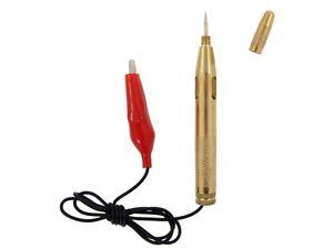 Automotive Electrical Tester Car Light Lamp 6-24 Voltage Test Pen Testing Tool