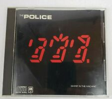RARE The Police - Ghost In The Machine Japan CD-3730 DIDZ-10070 PAT PEND  CASE