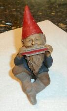 "Tom Clark collectible Gnome w Harmonica, ""Johnny"" 1984 vintage"