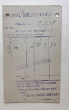 1909 Postcard National Biscuit Company Philadelphia Pennsylvania