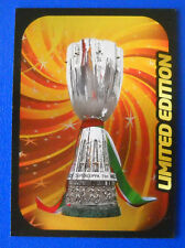 RARA CARD CALCIATORI PANINI ADRENALYN 2012/13 - SUPERCOPPA - LIMITED EDITION