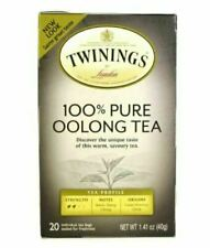 Twinings 100% Pure Oolong Tea 1.41ounce Pack of 20