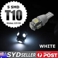 5pcs Xenon White T10 W5W 501 5 LED 5050 Car Interior Backup Reverse Light Bulbs