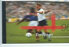 GB - PRESTIGE STAMP BOOKLETS - 1996- DX18- EUROPEAN FOOTBALL
