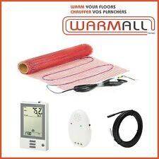 Warm All Electric Tile Floor Heating Mat Radiant Mesh 120V 60 Sq/Ft.