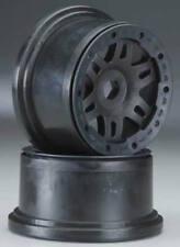 Pro-Line 2719-03 Black Split-Six No-Glue Bead-Lock Wheels(2) Rear: HPI Baja 5T