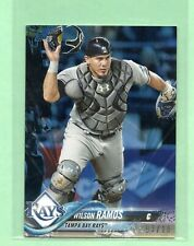 2018 Topps on Demand Mini Wilson Ramos #'d 03/10 SP Tampa Bay Rays