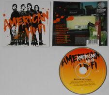 American Hi-Fi  Hearts on Parade  - U.S. promo cd  Gold DJ Stamp
