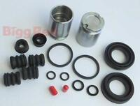 REAR Brake Caliper Seal & Piston Repair Kit to fit VW GOLF III (BRKP64)
