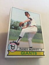 1979 Topps Baseball Card Lot 250 Different Cards Starter Set EX or Better Cond
