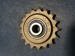 "GI-40-41-17 G+G Omaha Idler Sprocket. 1/2"" nominal bore new without box"