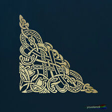 Celtic Knot Corner Stencil  For Art, Walls and Furniture  ST108