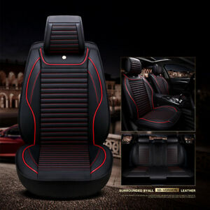 Car Seat Covers Holden Captiva 7 LS LX LTZ Series II 02/2011-On Black Red Airbag