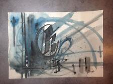 Peinture signée - art contemporain graffiti street art