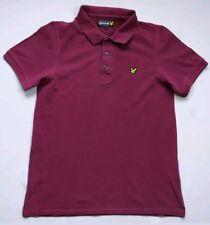 LYLE & SCOTT Polo Maglia T Shirt cotone Taglia S vintage no fred perry