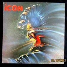 Icon Self Titled Record LP Vinyl Original 1984 Capitol Glam Hair Heavy Metal