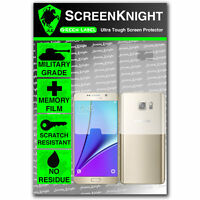 ScreenKnight Samsung Galaxy Note 5 / V FULL BODY SCREEN PROTECTOR invisible
